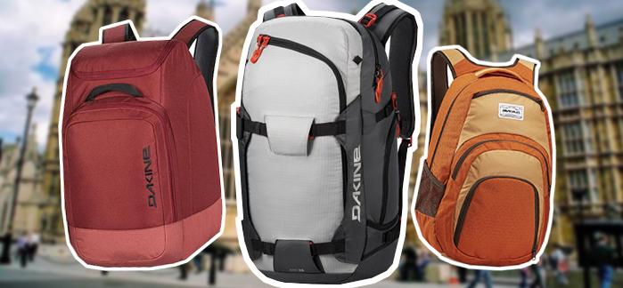 Рюкзаки для путешествий Dakine