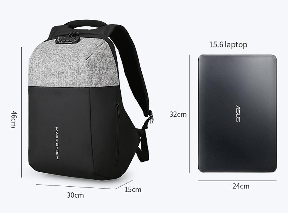 """В рюкзаке отделение для ноутбуков до 16,6"""""""