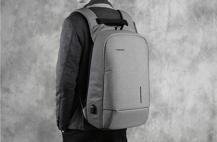 Рюкзак Kingsons ks3149w светло-серый
