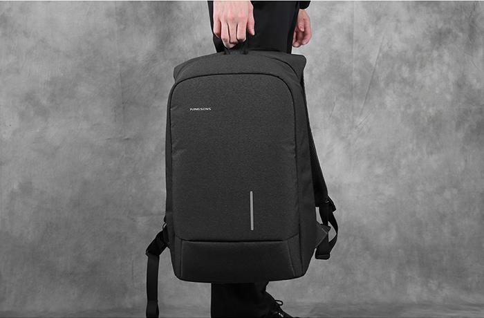 Рюкзак Kingsons ks3149w темно-серый