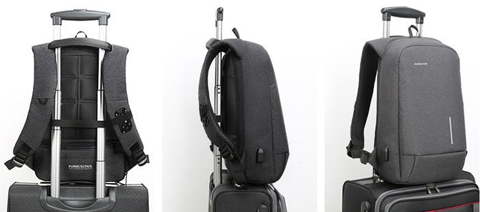 Крепления на телескопическую ручку чемодана