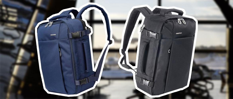Лучший рюкзак для путешествий самолетом -Tucano Tugo M Cabin Black