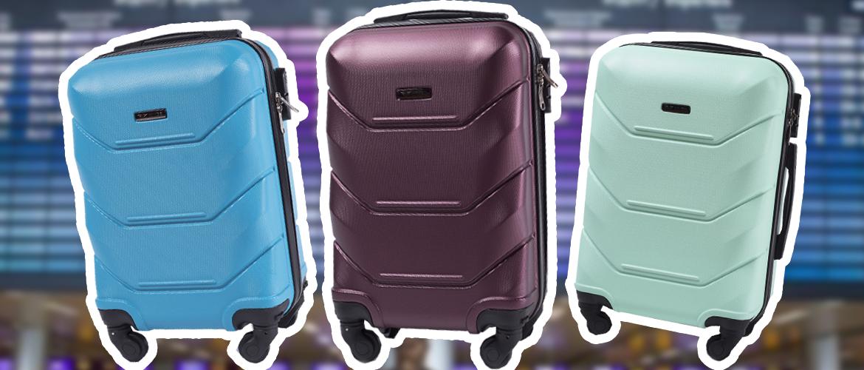 Wings 147 S — самый дешевый чемодан для ручной клади из поликарбоната