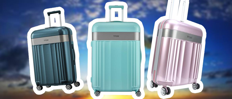 Titan Spotlight Flash S — самый красивый чемодан для ручной клади