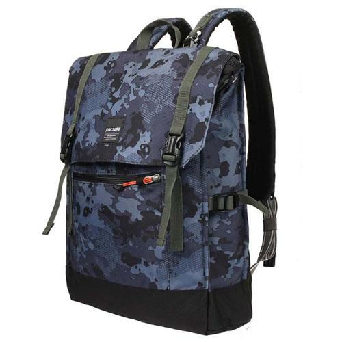 Рюкзак с защитой от кражи Slingsafe LX450 синий камуфляж