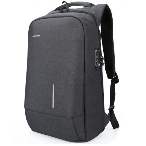 Рюкзак антивор с кодовым замком TSA