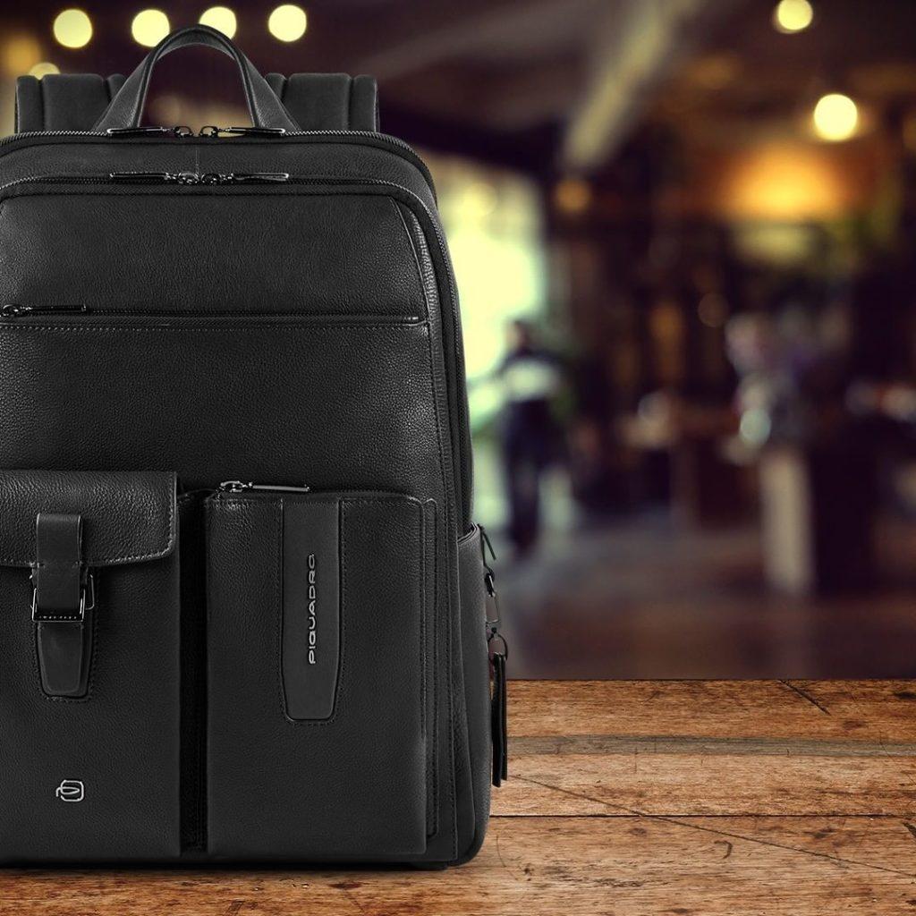 Piquadro - лучшие кожаные рюкзаки мужские